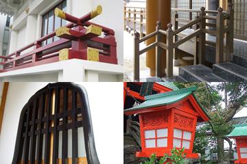 特殊な社寺建築。各種建材をどこに頼めばよいかわからない