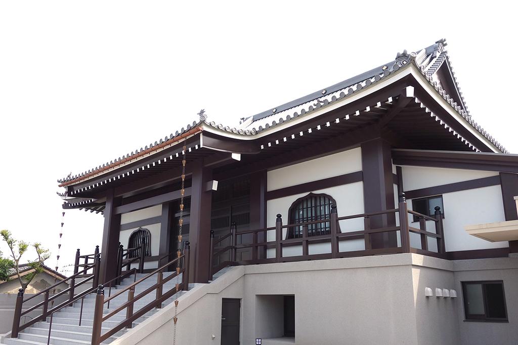 大仙寺本堂・客殿・庫裡新築工事