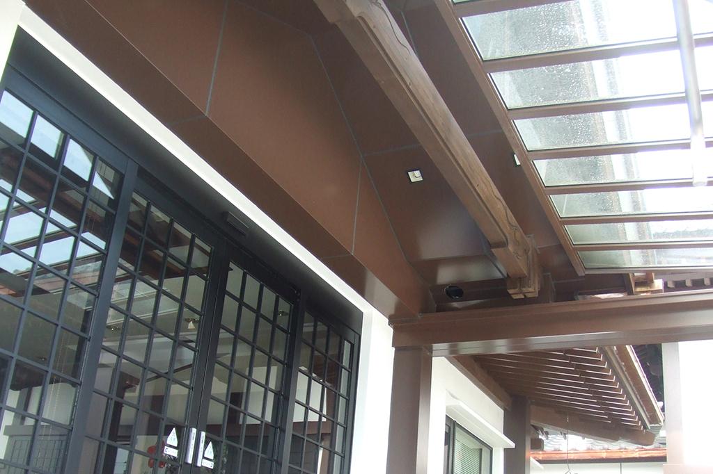 玄関天井パネル