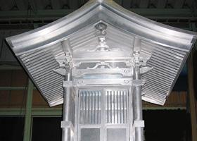 オールアルミ製地蔵堂「お地堂さん」商標登録第4983271号