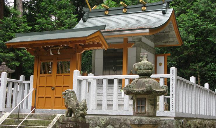 八幡神社本殿改築工事